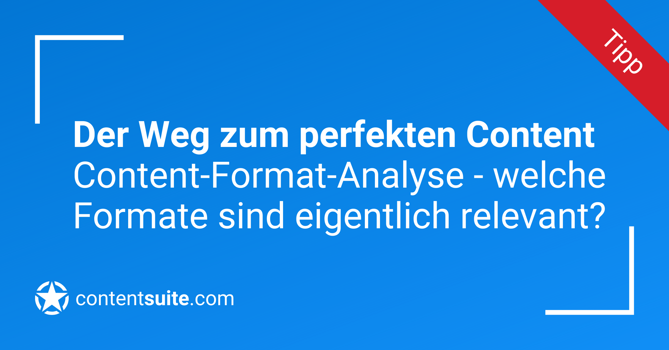 Content Format Analyse
